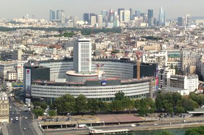 Vue aérienne de la Maison de la Radio
