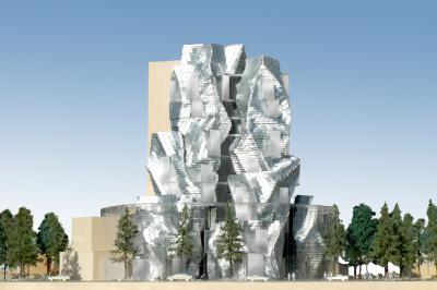 Maquette du projet du Parc des Ateliers d'Arles