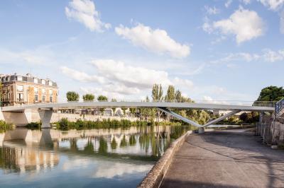 Passerelle des Anglais à Soissons.