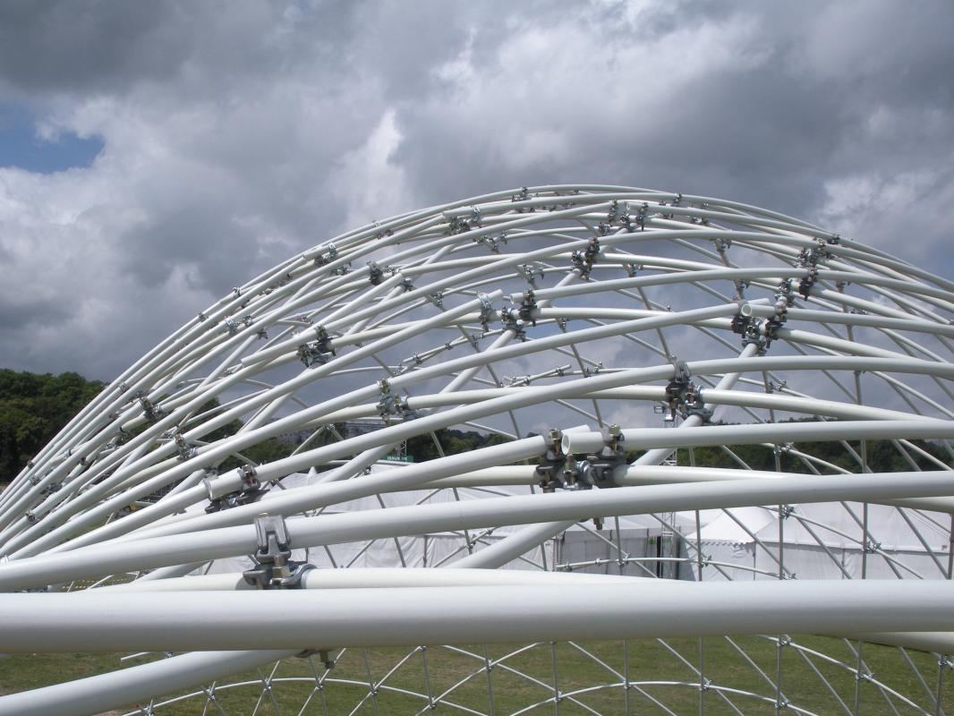 La structure prend sa forme.