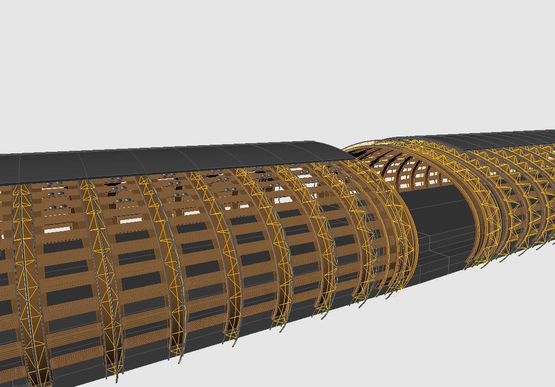 Modèle 3D d'étude.
