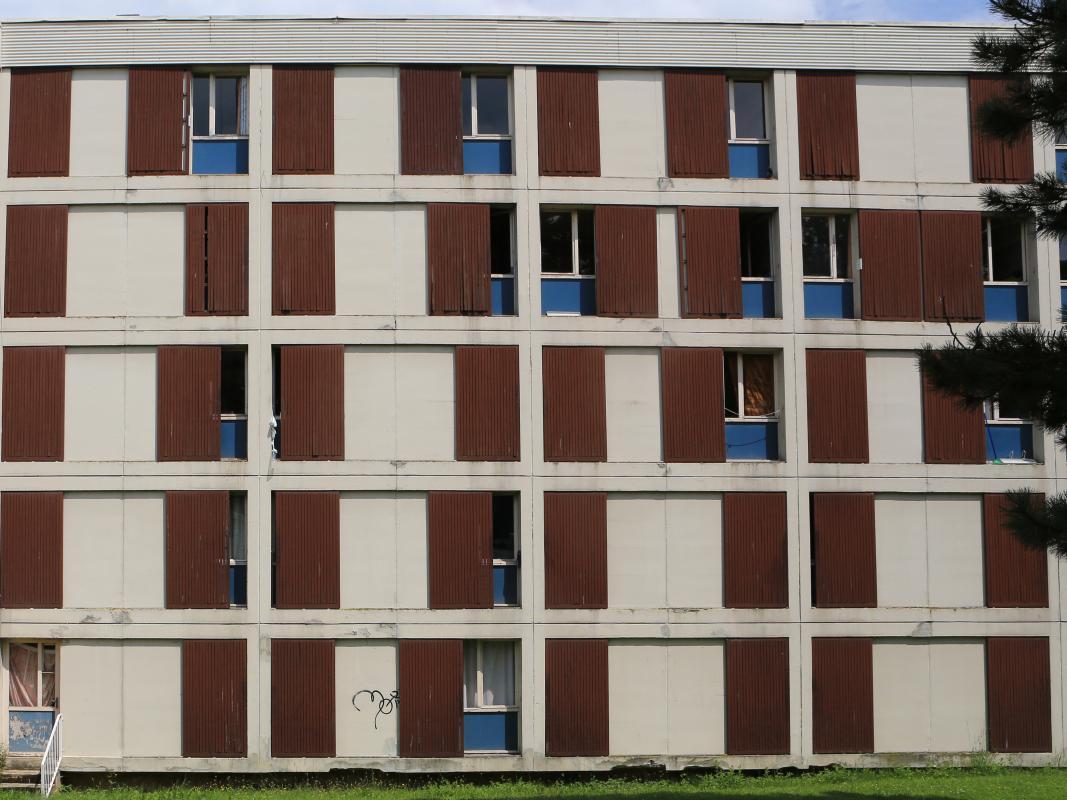 La façade d'origine.