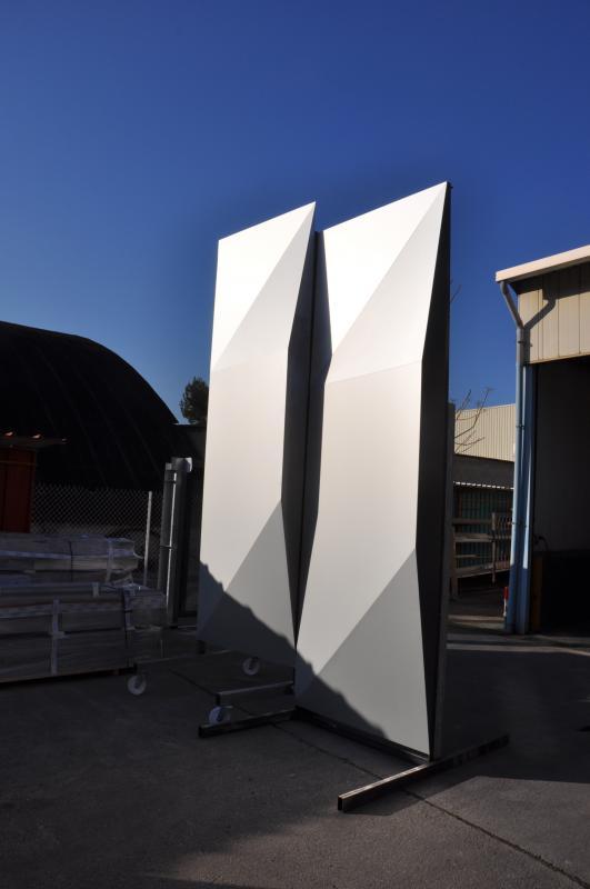 Le prototype de façade.