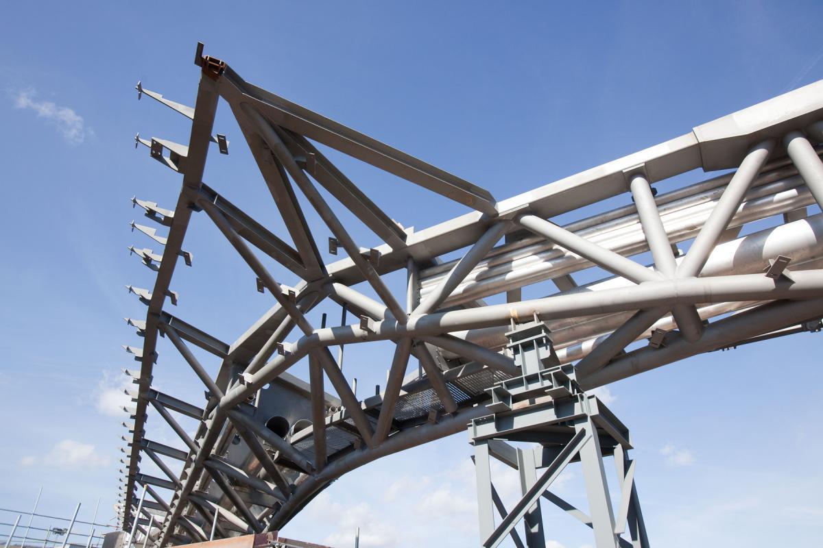 Montage de la structure.