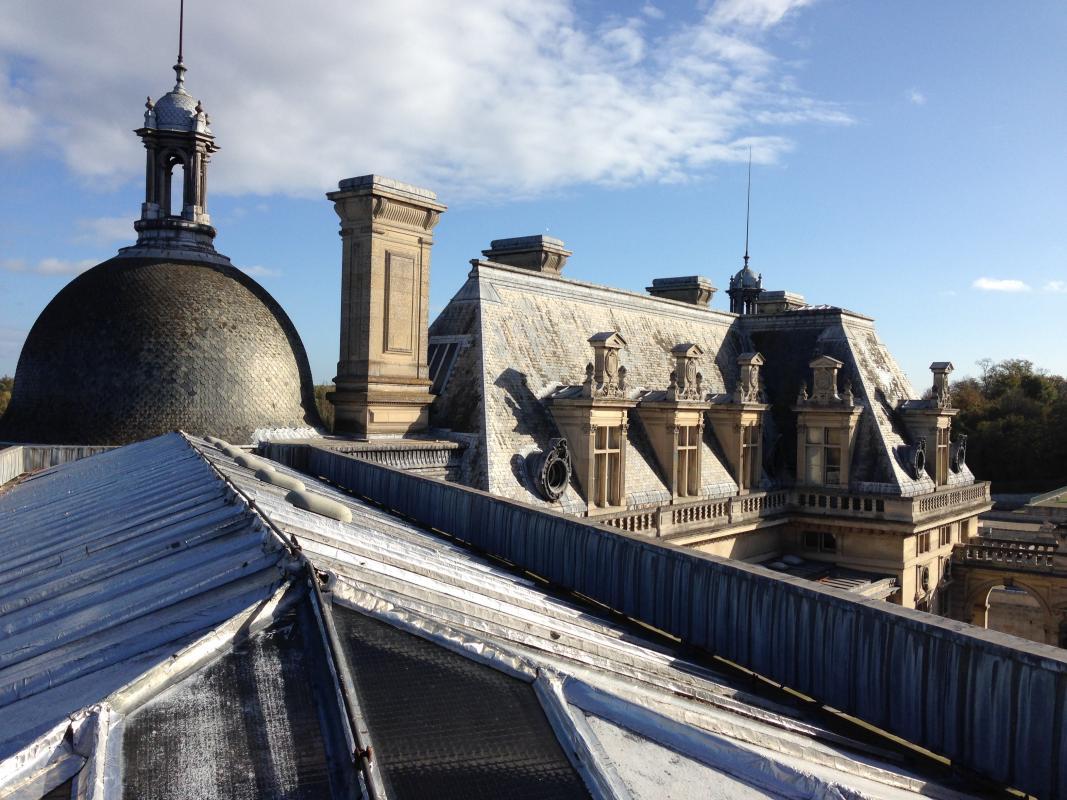 Toits du Château de Chantilly